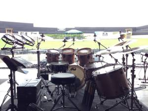 Drum's eye view in Columbus